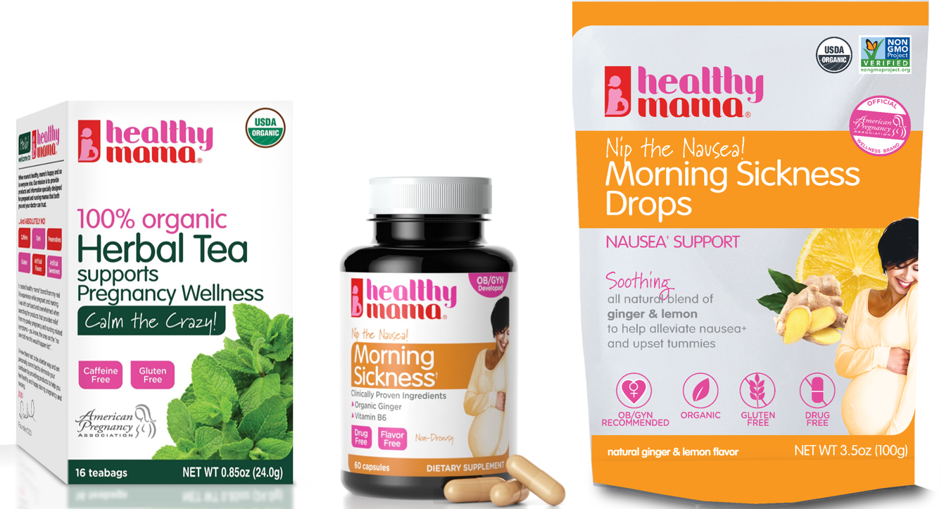 morning sickness bundle - have a safe and healthy pregnancy | from